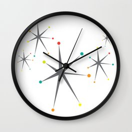 Atomic stars Wall Clock