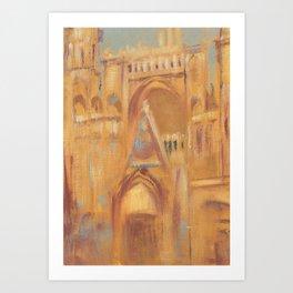 Notre-Dame de Paris Painting Art Print