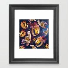 Dancing Tulips Framed Art Print