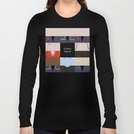 It's been a long road - square - Star Trek: Enterprise ENT - startrek Trektangle minimalist  Long Sleeve T-shirt
