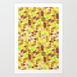 Cube Five Art Print