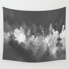 Chromatic Forest Nature Photography Wall Tapestry
