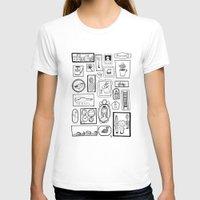 frames T-shirts featuring Frames II by Duru Eksioglu