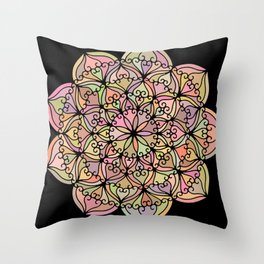 Mandala 04 Throw Pillow