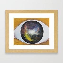 """seeker"" Framed Art Print"