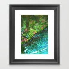 Gentle Current Framed Art Print
