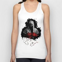 boxing Tank Tops featuring Death Boxing by tshirtsz