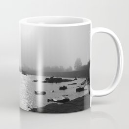Foggy Harbor North Shore 3 BW Coffee Mug