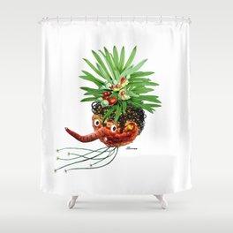 Mood detector Shower Curtain