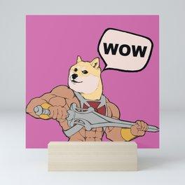 Much POWER! Mini Art Print