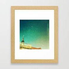 That's Where You'll Find Me... Framed Art Print