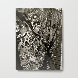 Locks of Love Metal Print