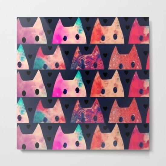 cats-185 Metal Print
