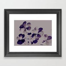 Leaves of Three, Let it Be... Framed Art Print