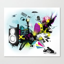 Why Sneakers Smell Canvas Print