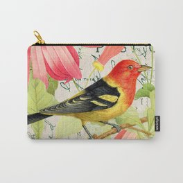 Vintage Bird #4 Carry-All Pouch