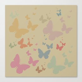 Butterflies Canvas Print