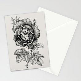 Sad Rose Stationery Cards