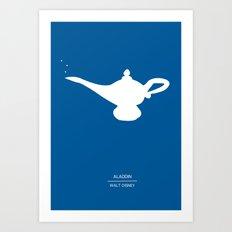 Aladdin's Lamp Art Print