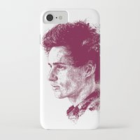 eddie vedder iPhone & iPod Cases featuring Eddie Redmayne by Chadlonius