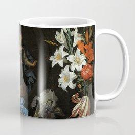 "Abraham Mignon ""Garland of Flowers"" Coffee Mug"