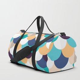 Autumn Mermaid Scales Duffle Bag