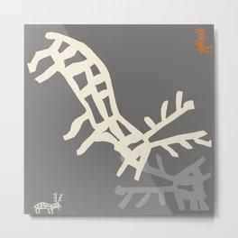 DEER3 Metal Print