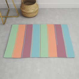 Invigorating Stripes Rug
