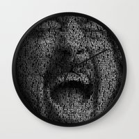 dave grohl Wall Clocks featuring Dave Grohl. Best Of You by Robotic Ewe
