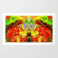 Birth of a Pheonix Art Print