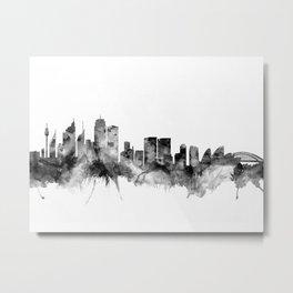 Sydney Australia Skyline Metal Print