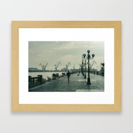 Port of Veracruz / Puerto de Veracruz Framed Art Print