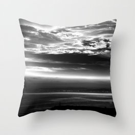 In the Morning Throw Pillow