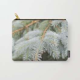 Blue Spruce Needles 25 Carry-All Pouch