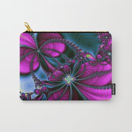 Flowering Rythm Carry-All Pouch