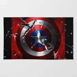 Captain Roger Shield Rug