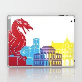 Ljubljana skyline pop Laptop & iPad Skin
