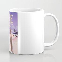 Åre Sweden ski travel poster Coffee Mug