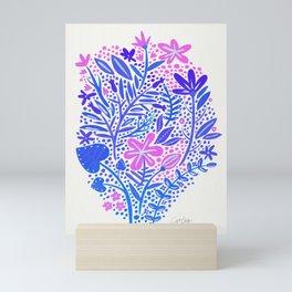 Garden – Indigo Palette Mini Art Print