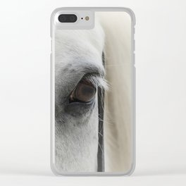 Horse Soul Clear iPhone Case