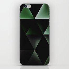 dyrk gryyn cyrnyrs iPhone Skin