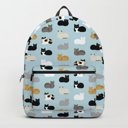 Cat Loaf Print Backpack