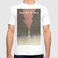 There will be blood - Alternative Movie Poster Mens Fitted Tee MEDIUM White