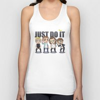 cyrilliart Tank Tops featuring Just 1Do It by Cyrilliart