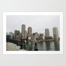 The City In November Art Print