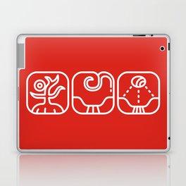 Mayan Glyphs ~ Nature Laptop & iPad Skin