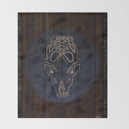 Deer Shield Throw Blanket