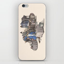 Collection of Curiosities iPhone Skin
