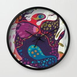 Spring Creeper Wall Clock