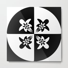 Amazing Circles Metal Print